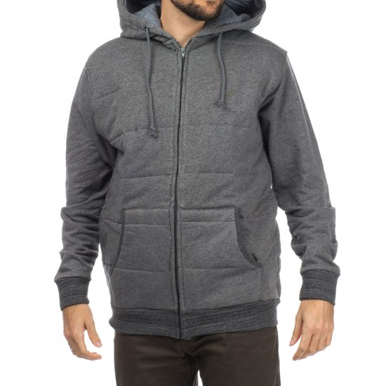 Matix Asher Modern Fleece Hoodie - Heather Grey