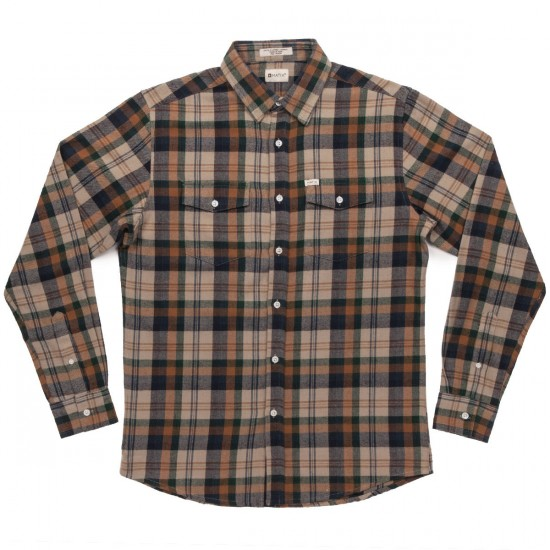 Matix Brooklyn Flannel Shirt - Grey