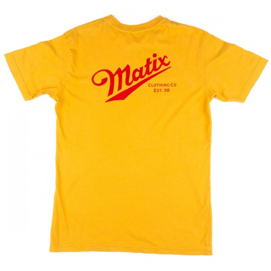 Matix Delivery T-Shirt - Gold