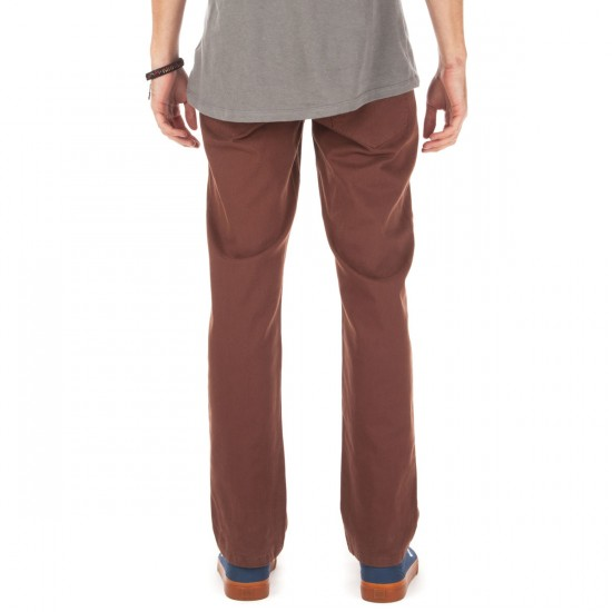 Matix Gripper Twill Pants - Chocolate - 28 - 32