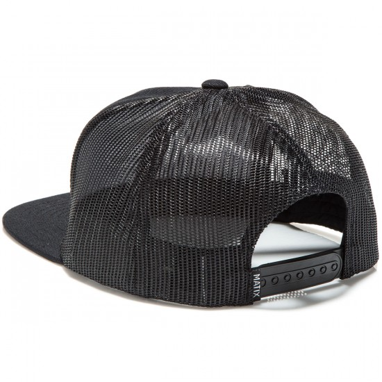 Matix Mill Hat - Black