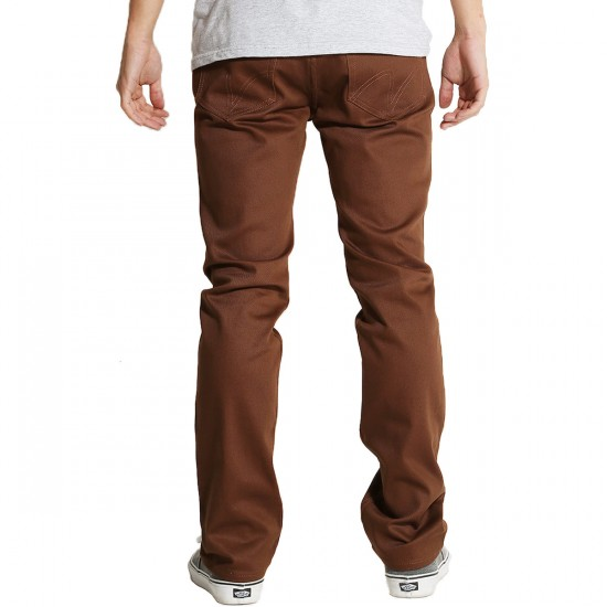 Matix MJ Gripper Twill Jeans - Chocolate