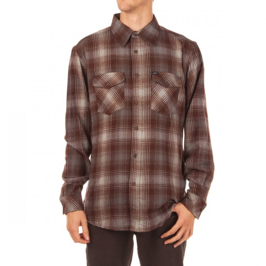 Matix Scheme Flannel Shirt - Ox Blood
