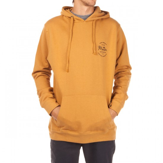 Matix Shop Fleece Hoodie - Gold