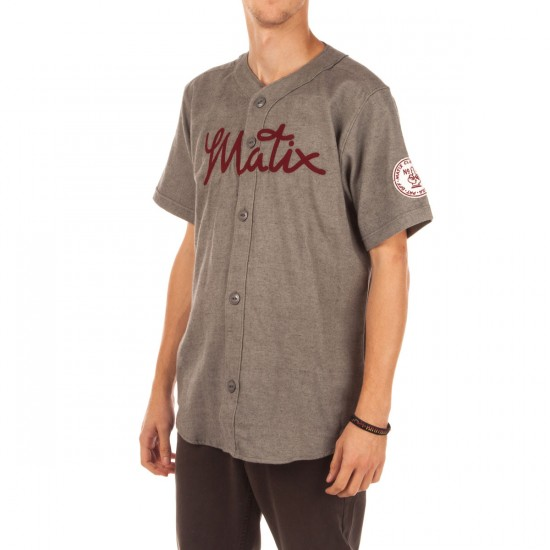 Matix Triple Play Woven Shirt - Grey