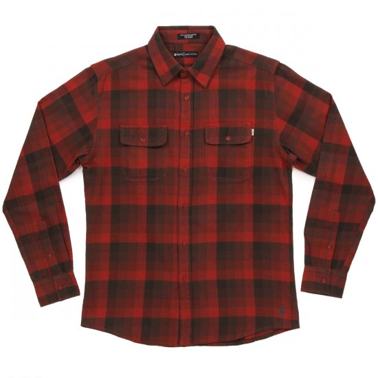 Matix Turks Flannel Shirt - Burnt Orange