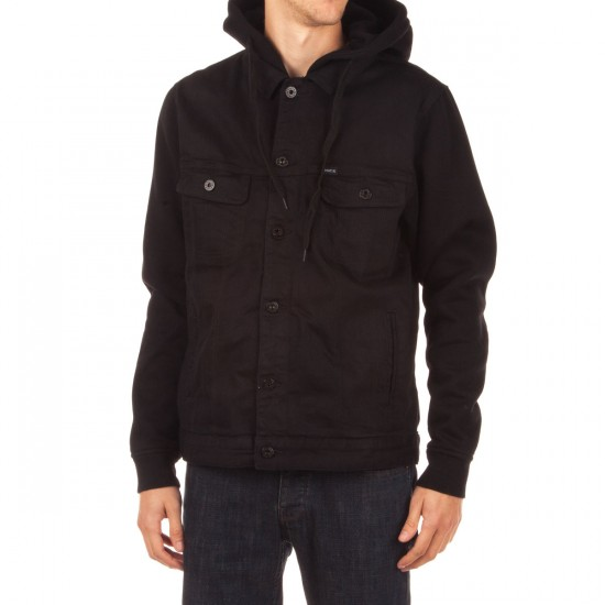 Matix Union Trucker Jacket - Black