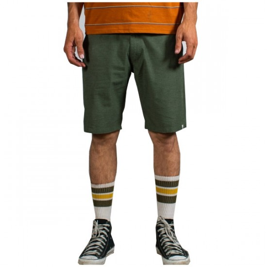 Matix Welder Modern Heather Shorts - Forest