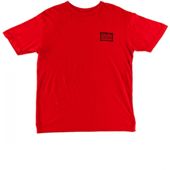 Matix Wheelin T-Shirt - Red