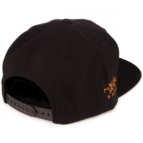 Moonshine Jug Snapback Hat - Black/Copper