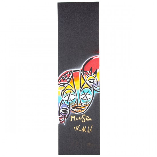 Mouse Hand-Sprayed Mob Skateboard Grip Tape - Faces