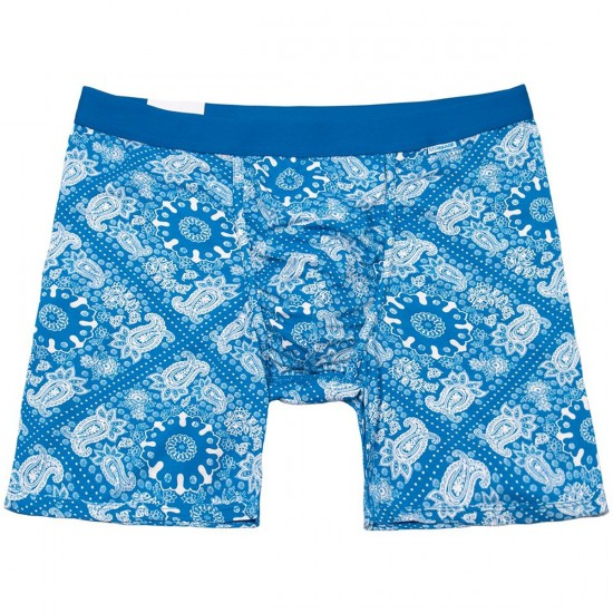 MyPakage Weekday Boxer Brief - Blue Paisley/Blue