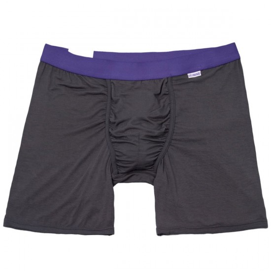 MyPakage Weekday Boxer Brief - Charcoal/Purple