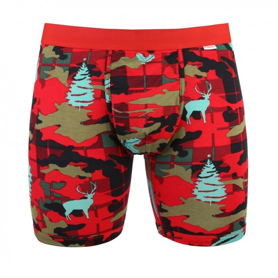 MyPakage Weekday Boxer Brief - Xmas Plaid Camo
