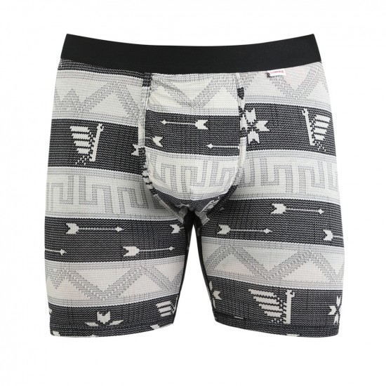 MyPakage Weekday Printed Boxer Brief - Cowichan/Black/Red
