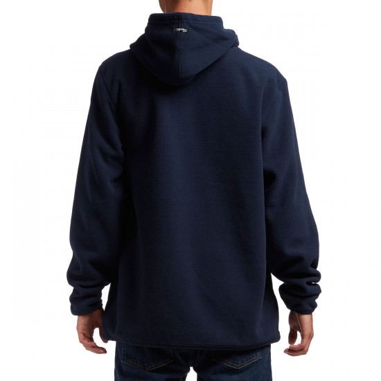 Primitive Arched Polar Fleece Hoodie - Navy
