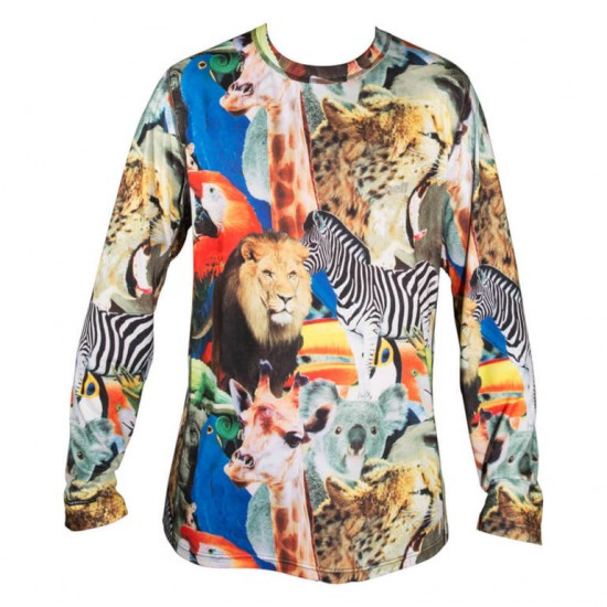Neff Base Top Shirt - Wildlife
