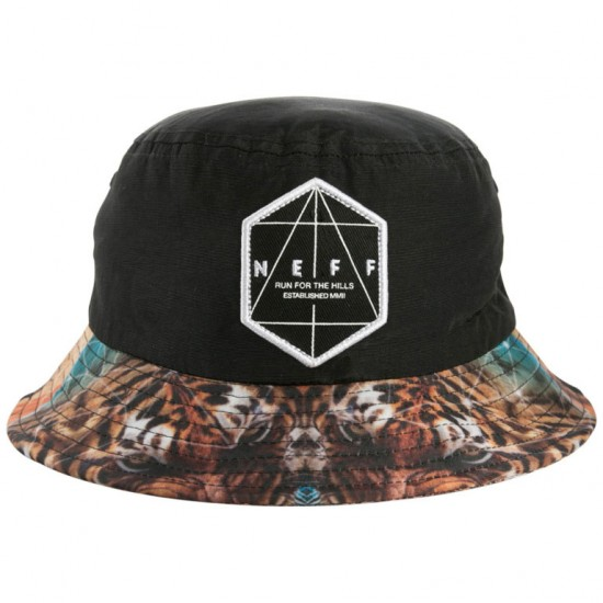 Neff Battlekat Bucket Hat - Black