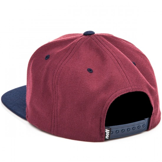 Neff Daily Hat - Maroon/Navy