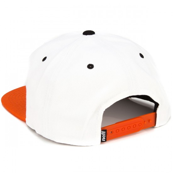 Neff Daily Hat - White/Orange