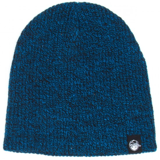 Neff Daily Heathered Youth Beanie - Black/Blue