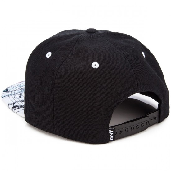 Neff Daily Pattern Hat - Black/Marble