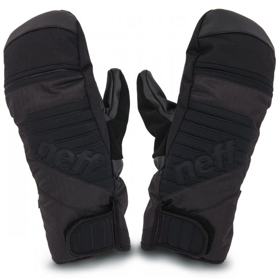 Neff Digger Mitts 2015 - Black