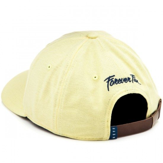 Neff Palm Breeze 6 Panel Decon Cap Hat - Yellow