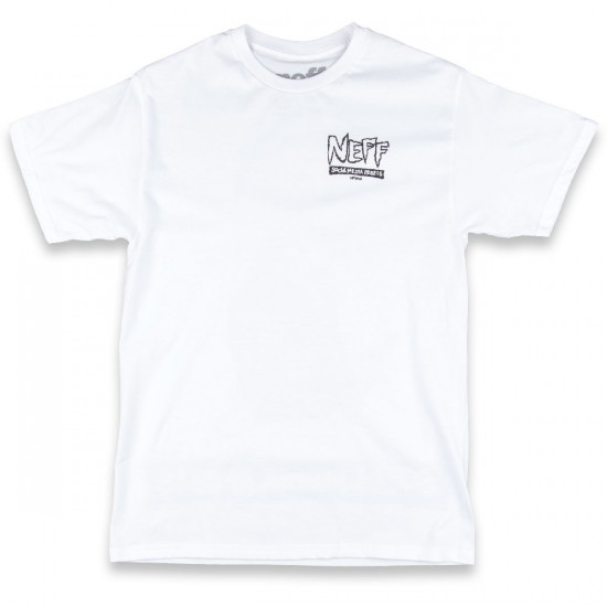 Neff Social Media Rebels T-Shirt - White