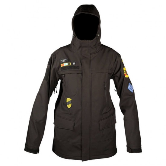 Neff Spec Ops Softshell Jacket - Black
