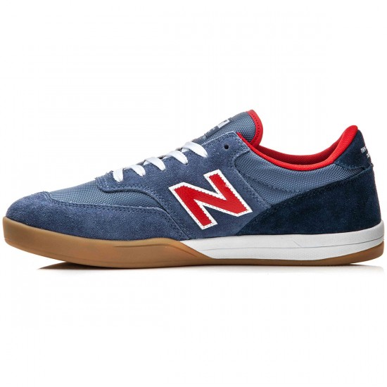 New Balance Allston 617 Shoes - Blue/Gum - 10.0
