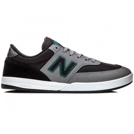 New Balance Allston 617 Shoes - Gunmetal/Black - 10.0