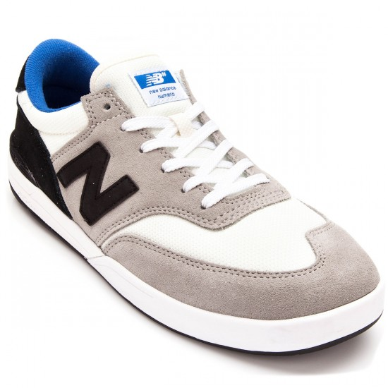 New Balance Allston 617 Shoes - Light Grey/Black - 7.5
