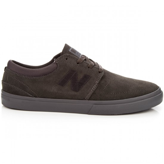 New Balance Brighton 344 Shoes - Grey/Black Suede - 8.0