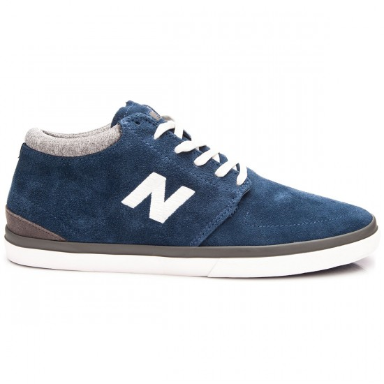 New Balance Brighton HI 354 Shoes - Navy Suede - 10.0