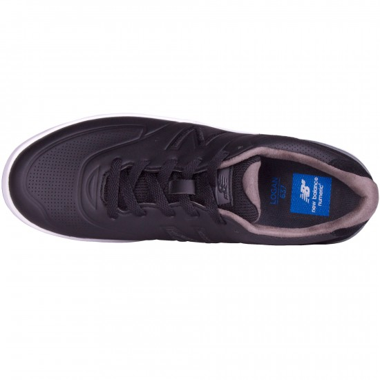New Balance Logan 637 Shoes - Black/Black - 8.0