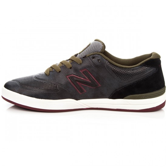 New Balance Logan 637 Shoes - Black/Red - 8.0