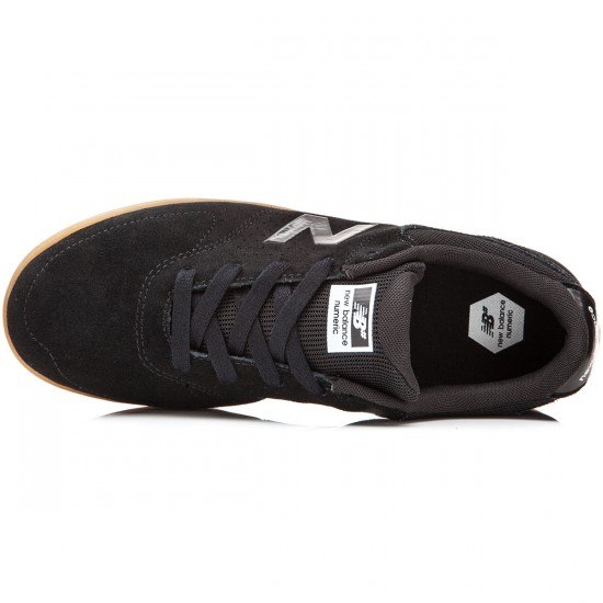 New Balance PJ Stratford 533 Shoes - Black/Gum - 6.0