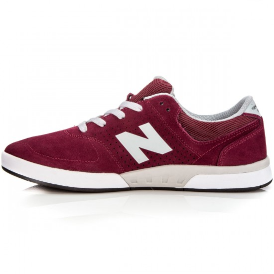 New Balance PJ Stratford 533 Shoes - Burgundy/Suede - 6.0