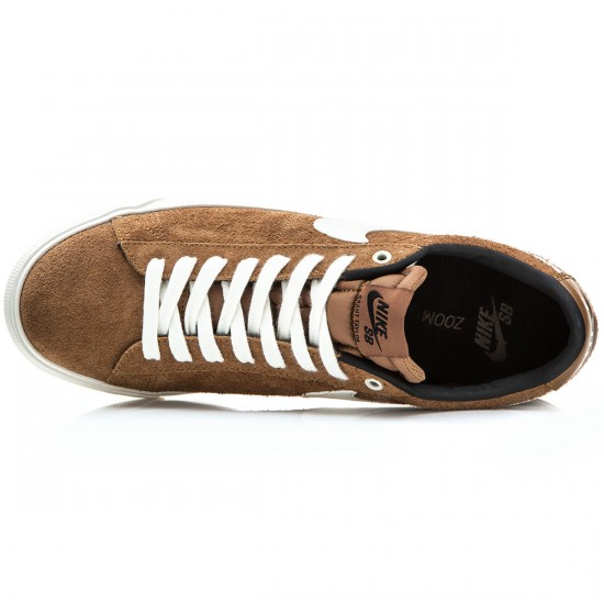Nike Blazer Low GT Shoes - Ale Brown/Black/Sail - 6.0