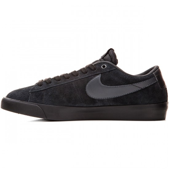 Nike Blazer Low GT Shoes - Black/Anthracite - 14.0