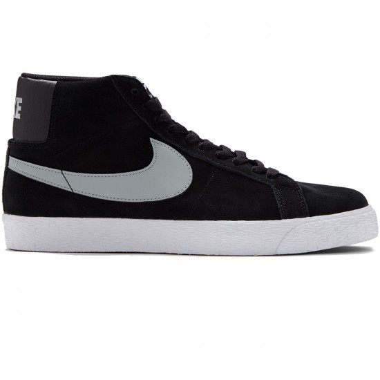 Nike SB Blazer Premium SE Shoes - Grey/Black/White - 10.0
