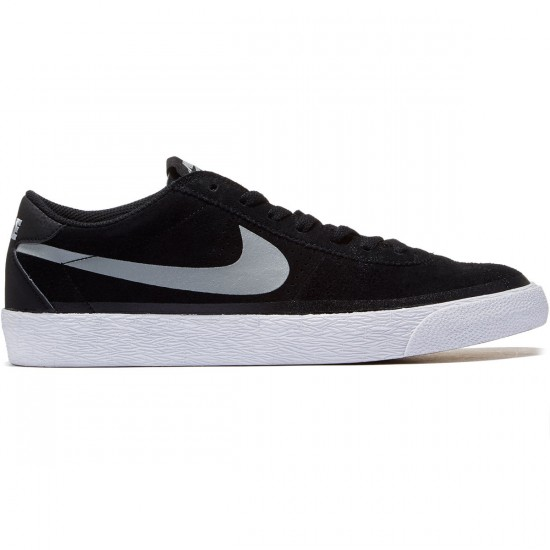 Nike SB Bruin Premium SE Shoes - Black/Base Grey/White - 10.0