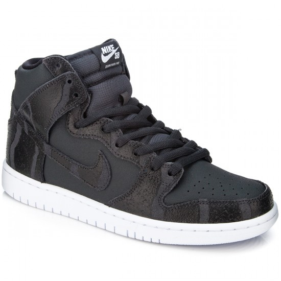 Nike Dunk High Pro SB Shoes - Anthracite/White/White/Black - 7.0