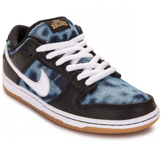 factory authentic 71fec 4127a Nike SB Dunk Low Premium Fast Times QS Shoes - Black Navy Gold -