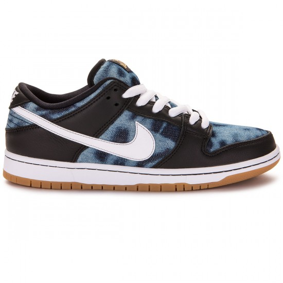 Nike SB Dunk Low Premium Fast Times QS Shoes - Black/Navy/Gold - 7.0