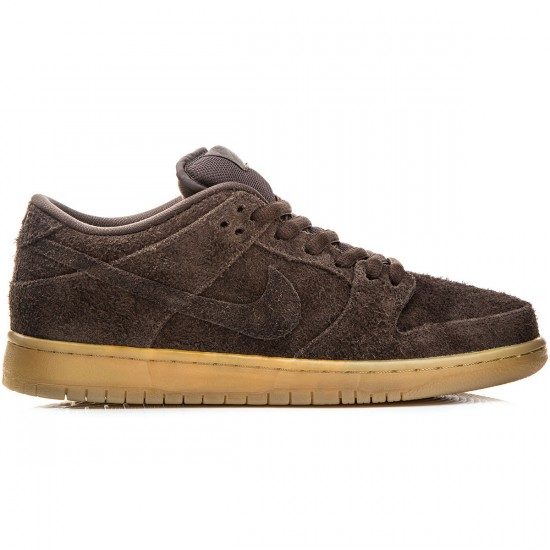 Nike Dunk Low Premium SB Shoes - Brown/Gum/Light Brown - 9.0