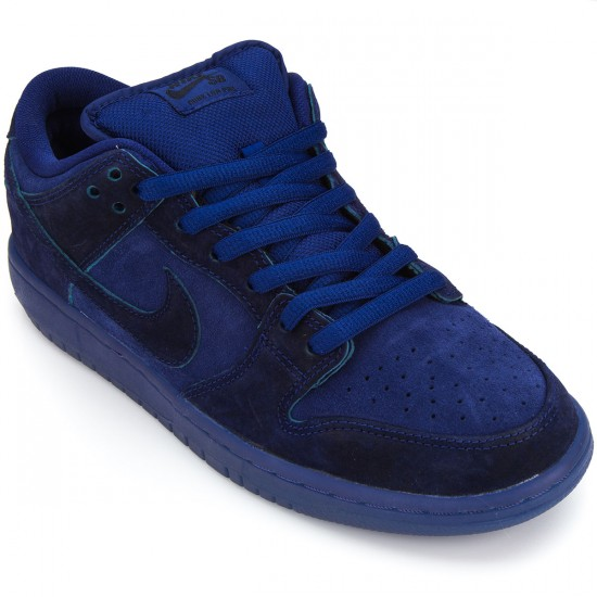 Nike Dunk Low Premium SB Shoes - Deep Royal Blue - 6.0