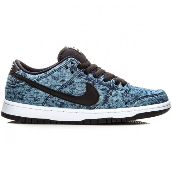 Nike Dunk Low Premium SB Shoes - Midnight/Navy/White/Black - 8.0