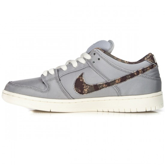 Nike SB Dunk Low Pro Shoes - Wolf Grey/Olive/Sail - 6.0